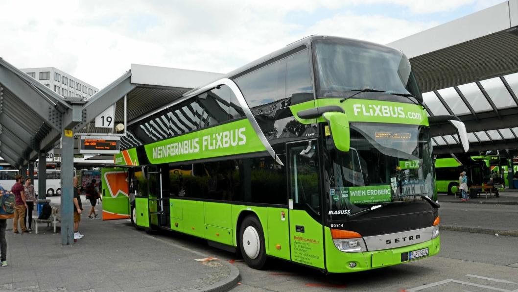 SUKSESS: Flixbus fraktet i fjor 100.000 reisende daglig fra 1700 destinasjoner og 27 land i hele Europa.