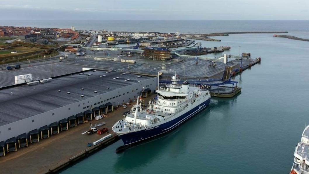 «Norwegian Gannet» står i fare for ikke å få anløpe Hirtshals.