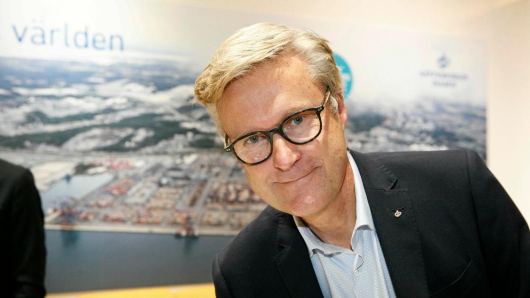 Magnus Kårestedt forlater sjefsstolen i det som seiler opp til å bli «Norges største godshavn». Foto: Per Dagfinn Wolden