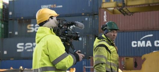 Dagliglivet i norske havner blir TV-serie