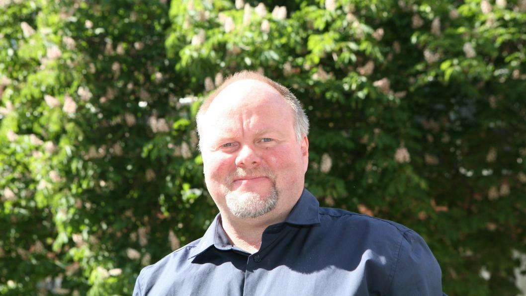 Daglig leder Leif Sagen i Meyership har stor tro på frakten av Nova Sea-laksen med tog. Foto: Per Dagfinn Wolden