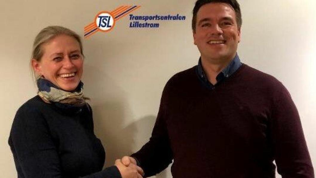 Sondre Mobråthen har fått med seg OTS og Randi Høieggen i den videre driften av Transportsentralen Lillestrøm (TSL).