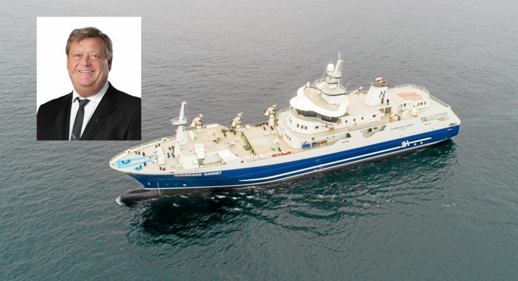 Fiskeriminister Harald T. Nesvik har sagt nei til at Norwegian Gannet får frakte prodfisk til utlandet, til tross for at Mattilsynet ga godkjenning til dette.