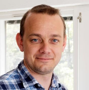 Øyvind Ludt, redaktør i Moderne Transport