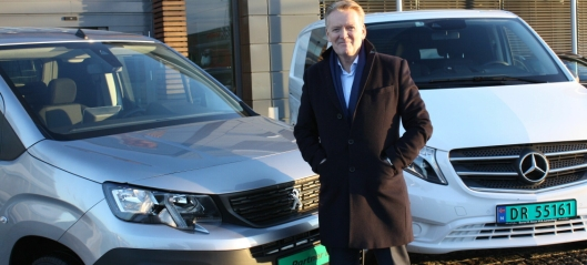 Bertel O. Steen er størst på varebil