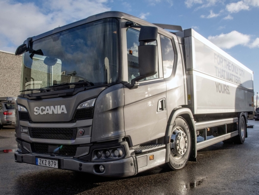 FØRSTE GANG: Scania L-serie blir et nytt bekjentskap for de aller fleste under Scania Winter.