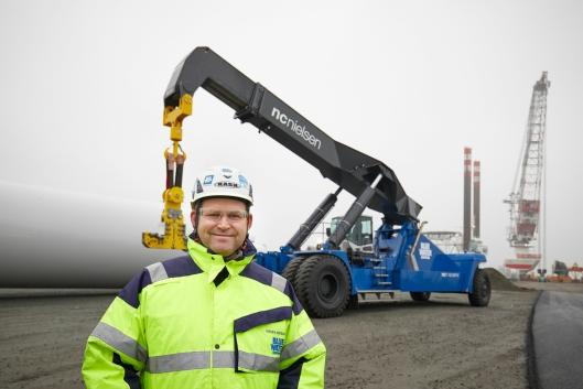 Søren Messmann, General manager i Port Services Division hos Blue Water Shipping.
