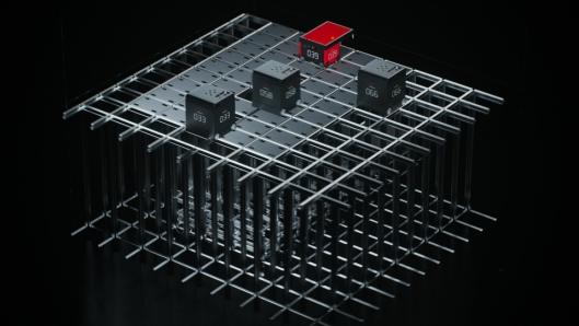 """De nye robotene B1, vil kunne kjøre sammen med de """"gamle"""" robotene R5 på samme grid."""