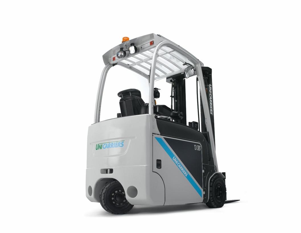 Truckene i TX3-serien har kapasitet fra 1,3 til 2,0 tonn. Dette er trehjuls elektriske trucker som ifølge den svenske produsenten karakteriseres av lavt energiforbruk, smart ergonomi og høy håndteringseffektivitet.