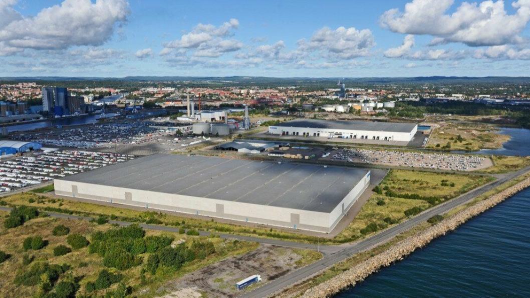 Biltema planlegger en utvidelse som skal øke kapasiteten fra 500.000 til 750 000 pallplasser. Her fra anlegget i Halmstad.
