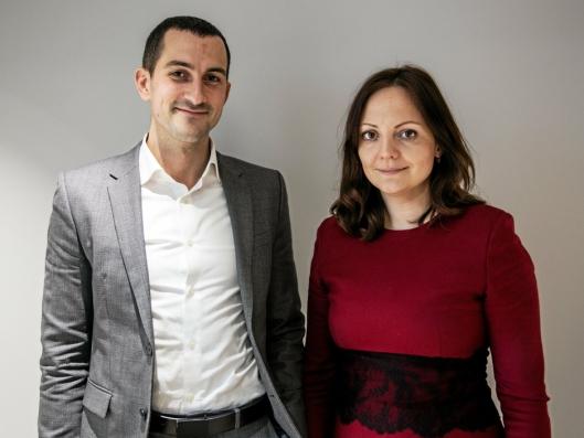 TOK TUREN: Moderne Transport møtte kommersiell direktør Pavel Solovjovs og CFO Jana Gridasova i Kreiss i Oslo i