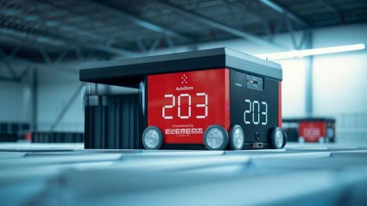 AutoStore® er en unik robotlagringsløsning som kan skreddersys etter kundens behov.