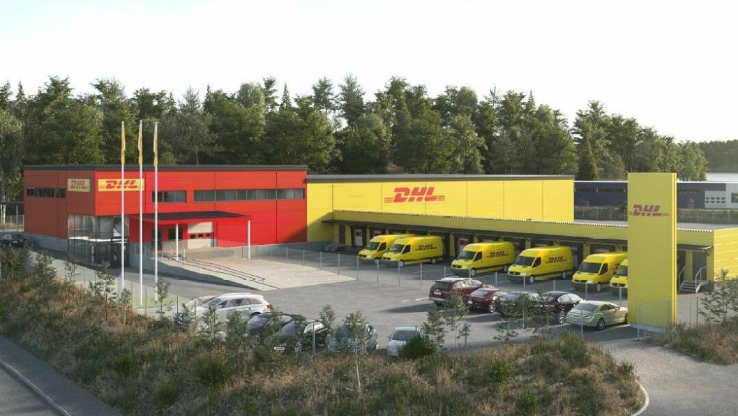 Ny terminal i Bergen skal gi økt kapasitet for DHL Express i området.