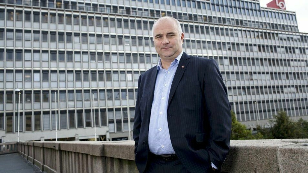 Bjørn Mietinen, 1. nestleder i HK. (Foto: HK)