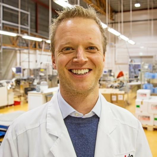 SJEFEN FOR DET HELE: Leif Rune Skymoen har ledet Curida siden 2015. – Det var en skikkelig tilvekst. Du trenger en person som Leif Rune som gir positivitet. En skikkelig motivator, skryter kollegaen Tom Kroken.