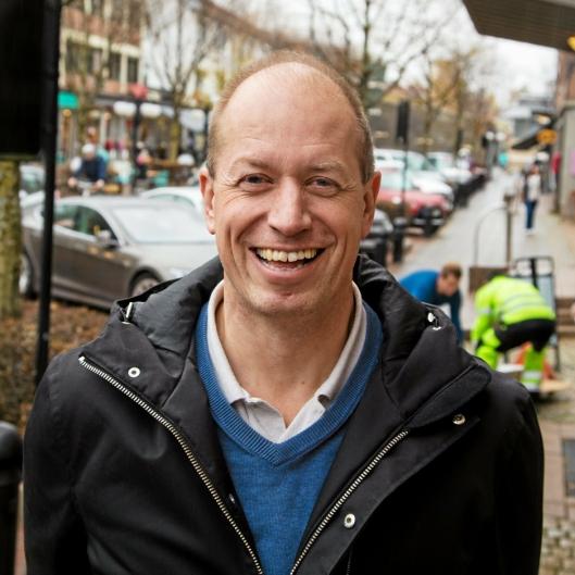 SATSER: Hans Erik Karsten er daglig leder og styreformann i det norske oppstartsselskapet IntSpo, som har hovedkontor i Asker.