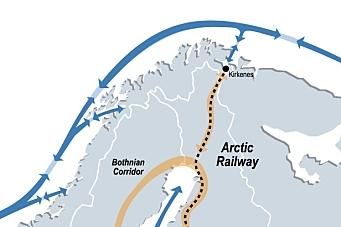 Arktisk jernbane skrinlegges