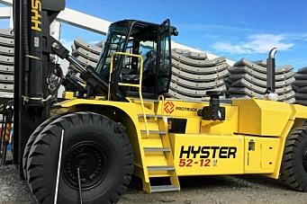 Hyster-importør konkurs