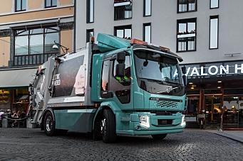 Volvos første helelektriske lastebiler overlevert