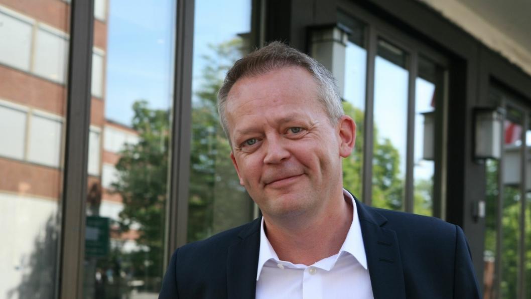 Schenker-sjef Knut Eriksmoen er møkka lei debatten om godsterminal og foreslår terminalbytte. Foto: Per Dagfinn Wolden