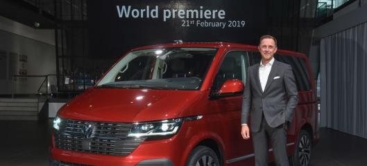 VW Transporter 6.1 ble vist