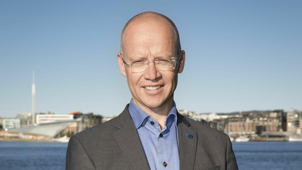 Havnedirektør Ingvar M. Mathisen. Foto: Oslo Havn