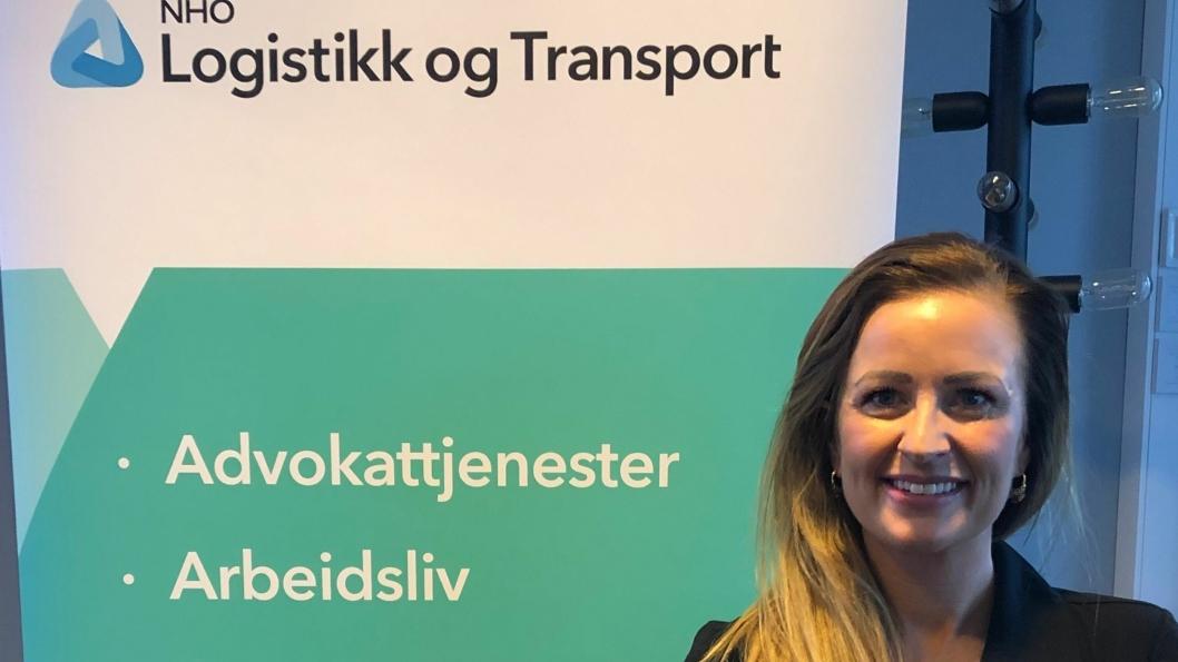 Cathrine Ogne er Rogalands-speditørenes første kvinnelige leder.
