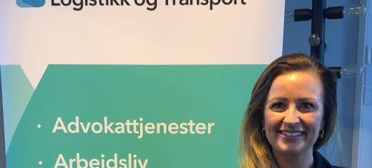 Hun leder Rogaland-speditørene
