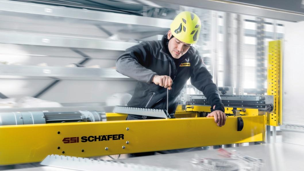 FLERE ANSATTE: Med et stort anlegg hos Asko, kan SSI Schäfer ansatte flere servicefolk i Norge, og dermed ha muligheten til å påta seg flere prosjekter.