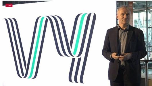Konsernsjef Geir Isaksen avslørte det nye navnet på konsernet tirsdag morgen.