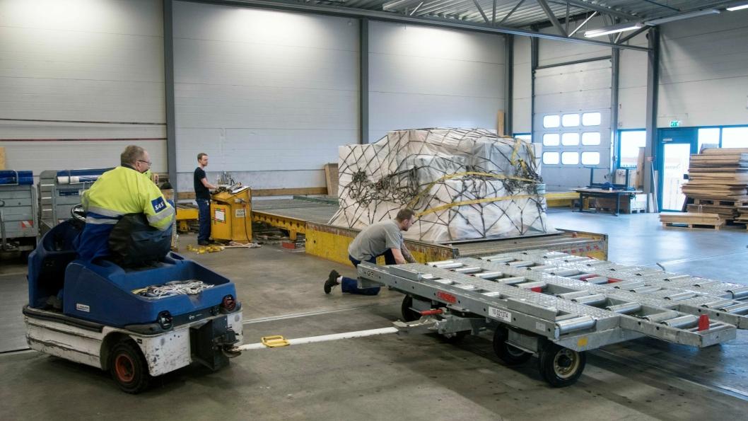 SAS får anerkjennelse for å levere svært god kvalitet på sine cargo-tjenester.