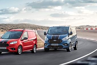 Ford fornyer Transit Custom Sport