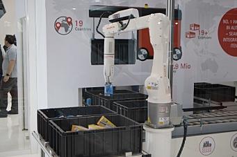 1000 robotplukk i timen ut av AutoStore