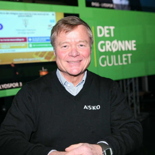 Torbjørn Johannson mener at det er potensial for å spare én million trailer-kilometer årlig - med null utslipp. Foto: Per Dagfinn Wolden