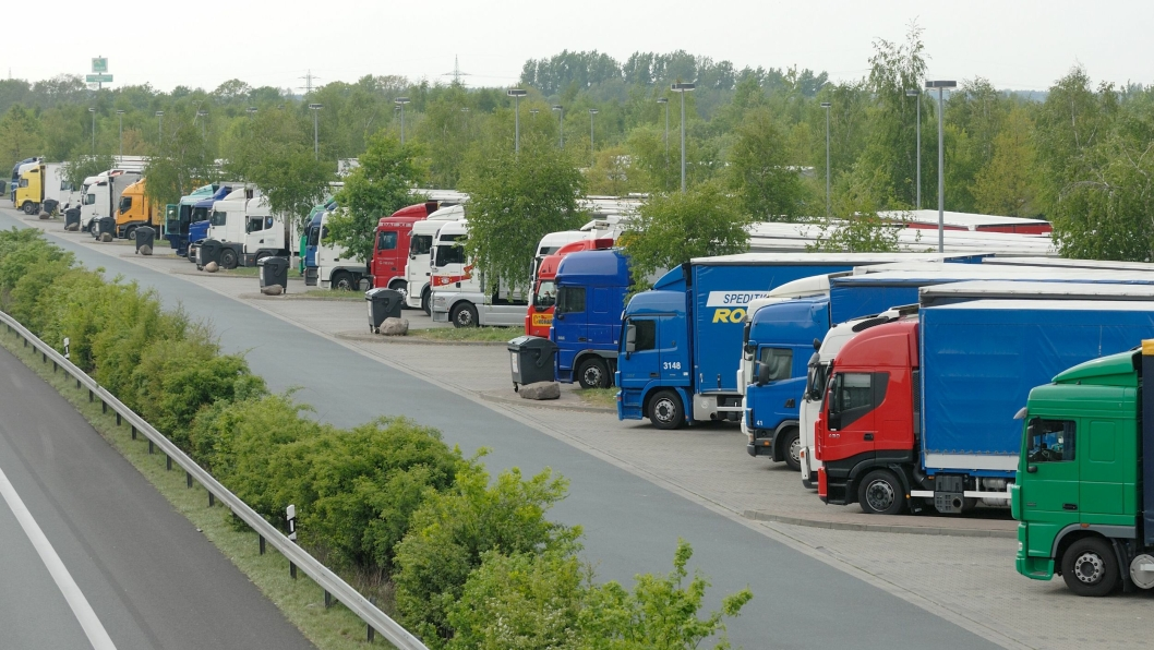 Arkivbilde fra rasteplass i Tyskland 2009.