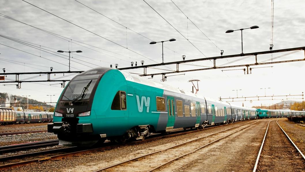 KOMPETANSEORGAN: Vy eier verken toget, ledningene eller skinnene på dette bildet. Men må vinne retten til å bruke både kjøretøy og infrastruktur.
