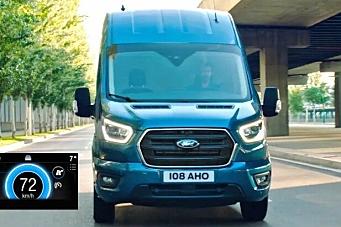 Ny økokjørings-teknologi på Fords nyttekjøretøy