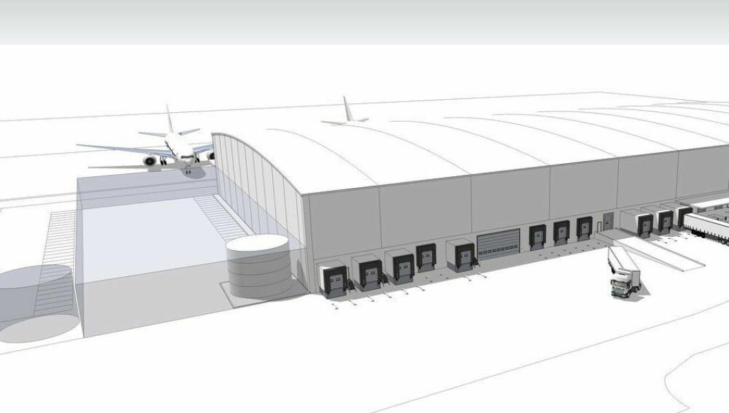 Anlegget skal bli verdens største sjømatterminal for flyfrakt med en håndteringskapasitet på 300.000 tonn sjømat årlig, eller ca. 1600 tonn daglig.