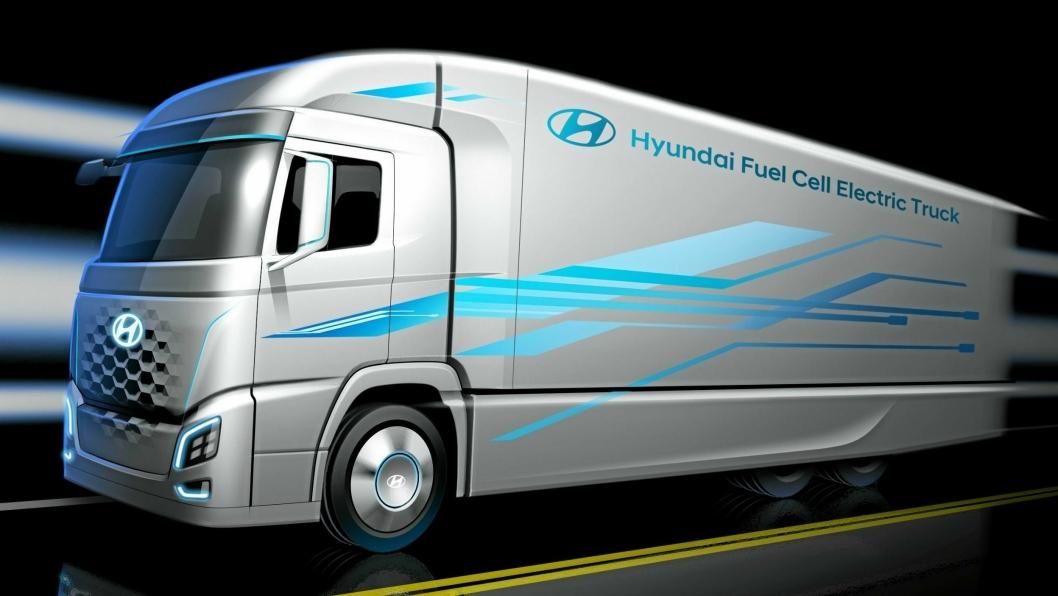 I ÅR: Allerede i år skal de første hydrogendrevne lastebilene etter planen leveres i Sveits i samarbeid med H2 Energi.