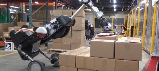 Vil slippe dinosaur-robot inn på lageret