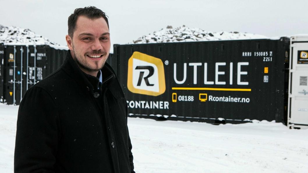 VERKSTEDET: I verkstedet på Oppåkermoen bygger og monterer Rcontainer alle tenkelige typer containere. Denne skal til Oslo kommune.