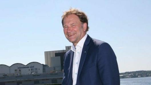 Styreleder Halvard Aglen i Norske Havner er kritisk til regjeringens nye Havne- og farvannslov. (Foto: Per Dagfinn Wolden)
