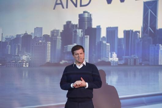 Ny sjef: Gerrit Marx, President Commercial and Speciality Vehicles Segment, i tillegg til midlertidig merkepresident for Iveco etter at Pierre Lahutte sluttet tidligere i år.