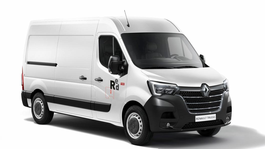 Nye Renault Master kommer i en ekstra godt utstyrt variant, Red Edition.