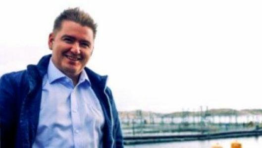 Head of Production planning SalMar, Simon Søbstad, forteller at selskapet har skiftet spor til verdensomspennende logistikksatsning.