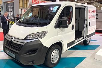 Verdenspremiere på elektriske varebiler