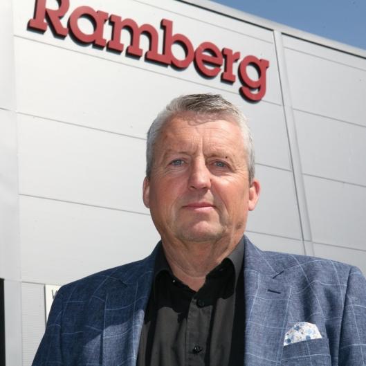 Daglig leder Terje Clausen har bidratt til en fantastisk reise for Ramberg. Foto: Per Dagfinn Wolden