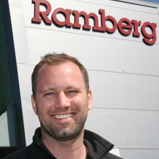 Bror H. Ramberg representerer fjerde generasjon Ramberg. Foto: Per Dagfinn Wolden
