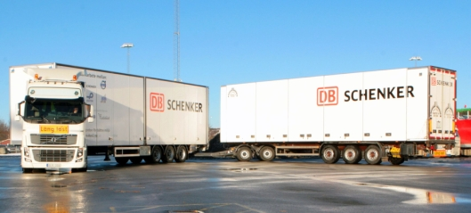 Schenker skal teste 32 meters vogntog