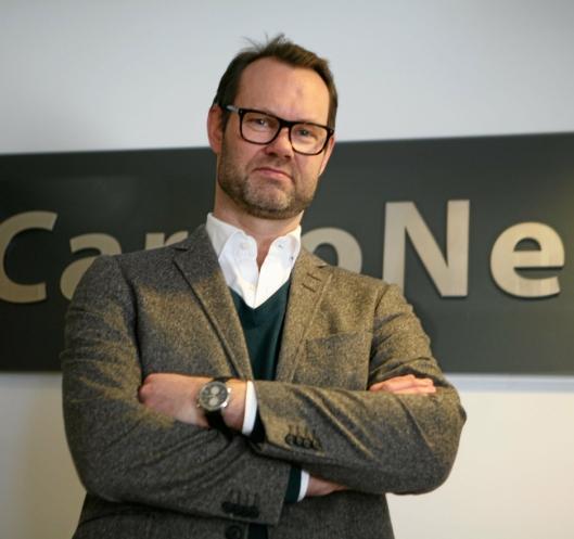 Erik Røhne, i CargoNet er spent på hvordan støtteordningen skal fungere.